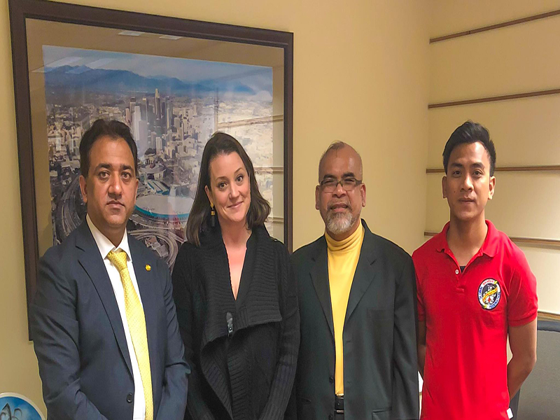 Director Los Angeles 2028 expresses interest in hosting TSG activities