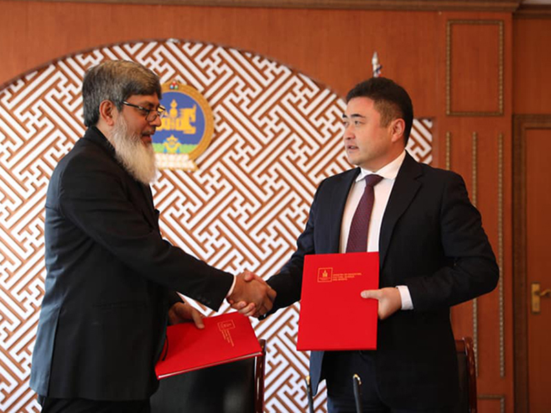 ICTSG and Government of Mongolia sign MoU for future cooperation