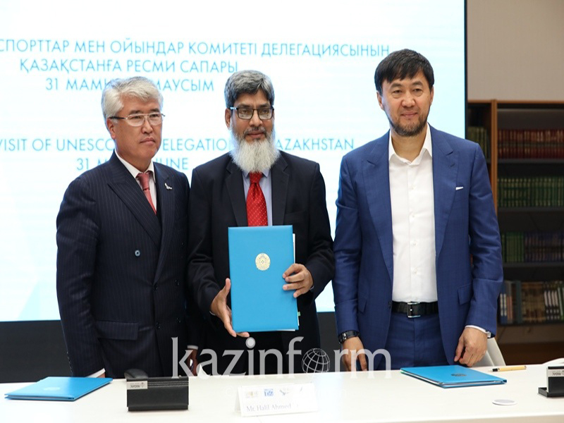 UNESCO TSG Delegation visit to Kazakhstan