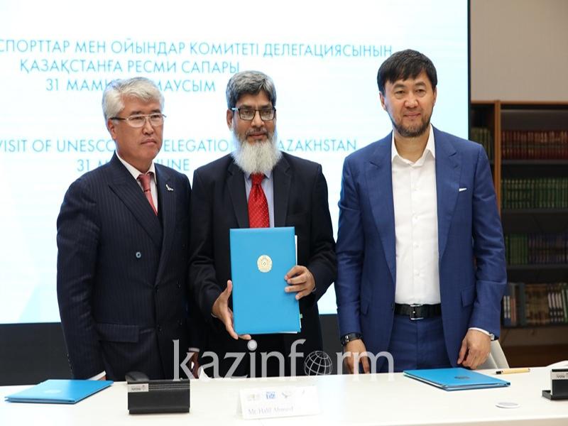 UNESCO TSG Delegation visit to Kazakhstan