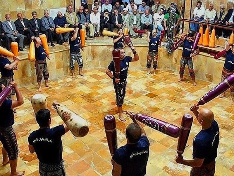 Zurkhaneh Traditional Sports