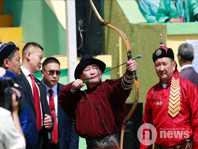 National archery being promoted in Mongolia